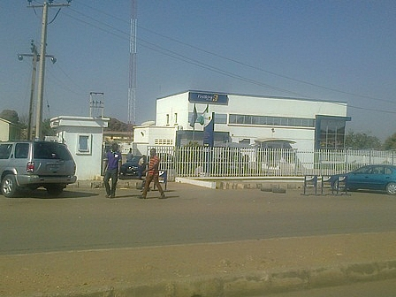 First Bank in Farin Gada near the round about