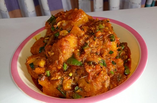 Nigerian yam porridge recipe
