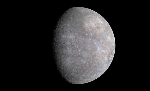 Mercury - the closest to the sun and the first of the 9 planets in order from the sun
