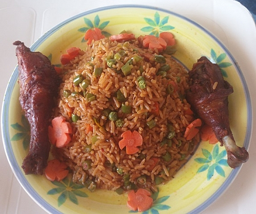 Photo of How to prepare Jollof rice (Party Rice) with mixed vegetables