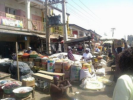 Photo of Katako Market of Jos North Local Government Area of Plateau state