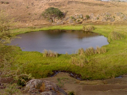 Photo of Pidong Crater Lake in Mangu Local Government Area