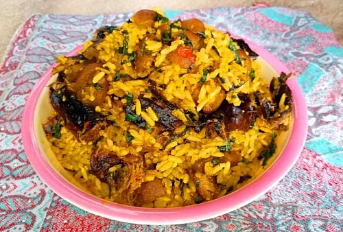 Photo of How to Cook Palm Oil Jollof Rice (Native/Concoction/ Mtn Rice) Recipe