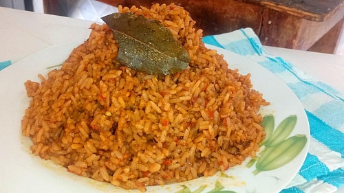 Photo of How to Cook Party Jollof Rice Without Parboiling the Rice /Tips to Get the Red Colour Jollof Rice