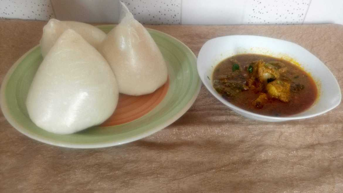Tuwom Masara with Soup