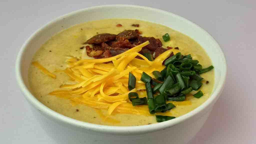 Easy Homemade Loaded Potato Soup
