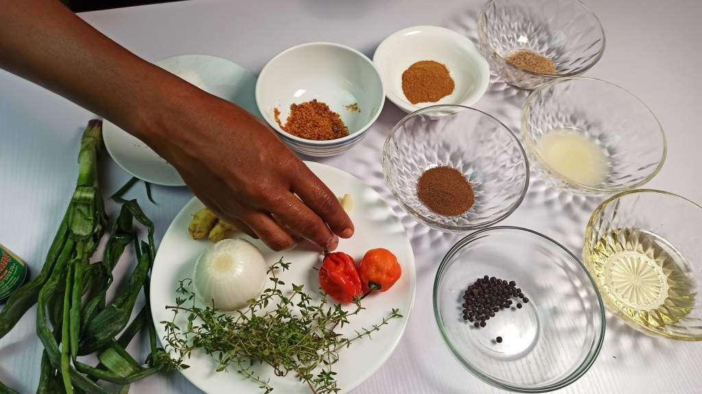 Jerk Seasoning Ingredients and Spices