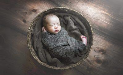 wood floors in basket