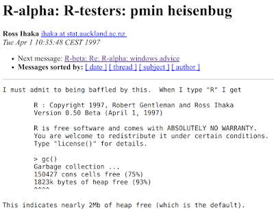 Subject: R-alpha: R-testers: pmin heisenbug From: Ross Ihaka <ihaka at stat.auckland.ac.nz data-recalc-dims=
