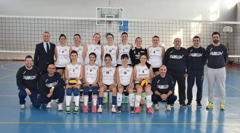 Rainbow Volley Crispiano ai playoff per la serie C