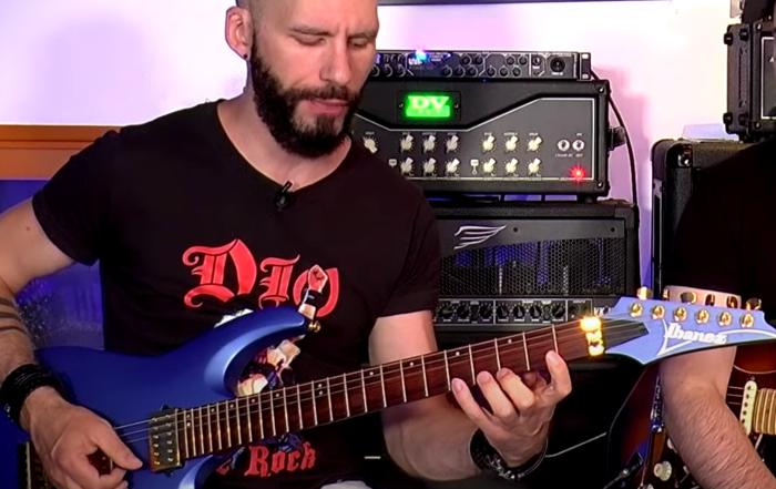 improviser sur tout le manche de la guitare