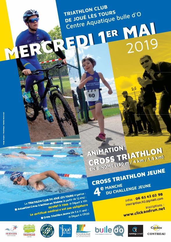 triathlon club de joue les tours