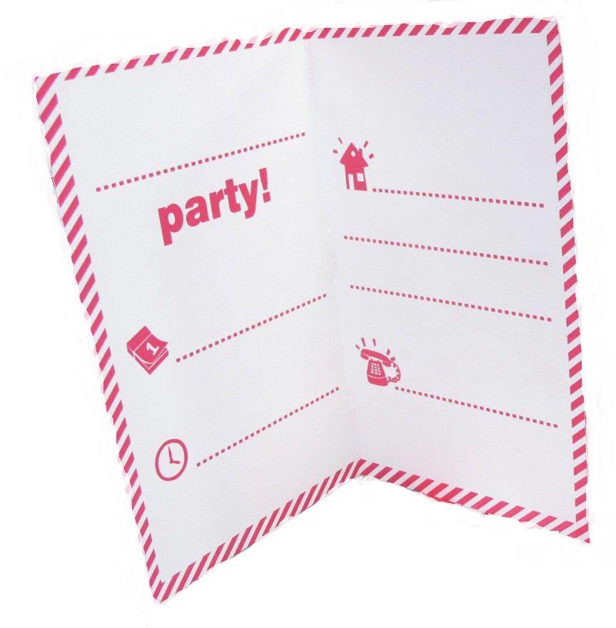 cartes d invitation pour un anniversaire hello kitty par 6