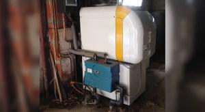 Chaudière fioul condensation au sol, avec ballon ECS - Melesse