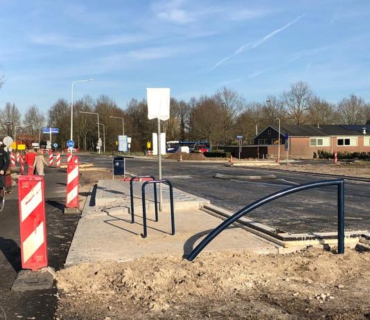 Hollandiastraat zaterdag weer open voor verkeer