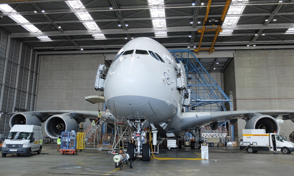 Maintenance intervals are extended for the Airbus A380
