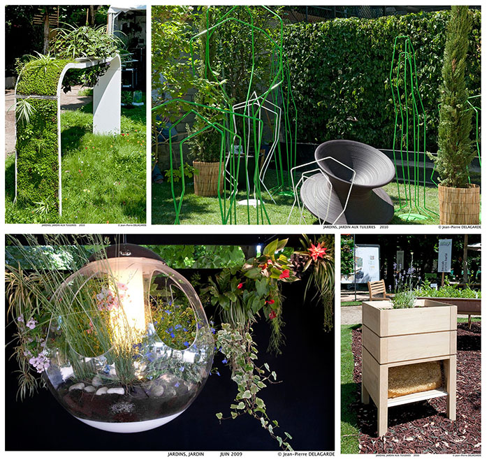 Jardins jardin en juin 2014 le salon du design ext rieur au jardin des tuileries journal d co - Amenagement jardin exterieur design ...