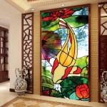 vitrail poisson décoratif