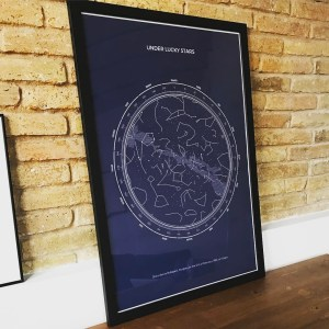 Peachy Personalised Star Map Poster Classic Download Free