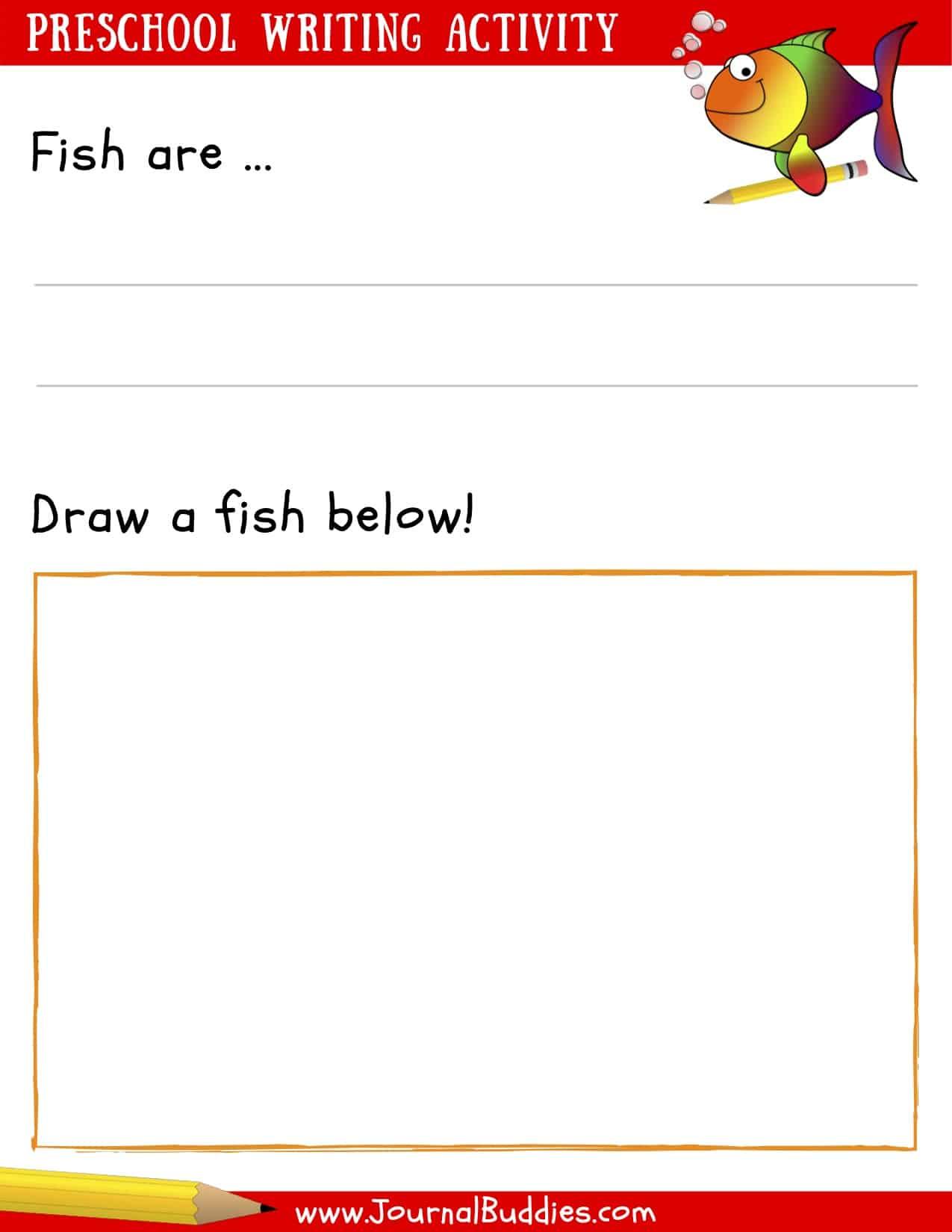 Writing Worksheets For Preschoolers Journalbud S