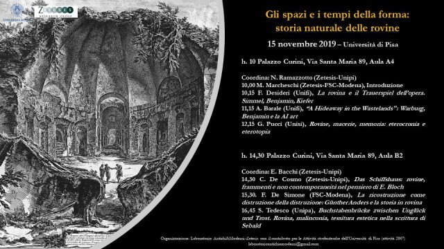 Storia Rovine Pisa