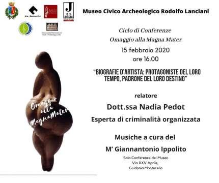 Magna Mater, evento Nadia Pedot