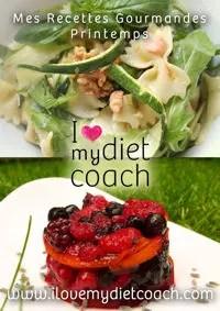 retrouvez le livre de recettes du programme i love my diet coach®.