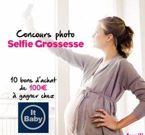 concours selfie de grossesse
