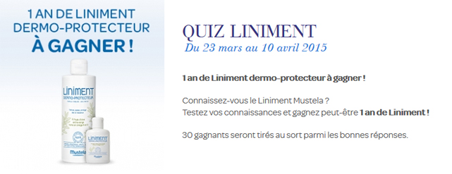 quiz liniment mustela
