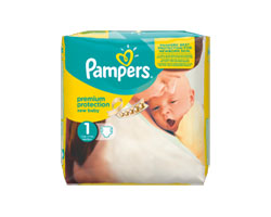 couches pampers new baby