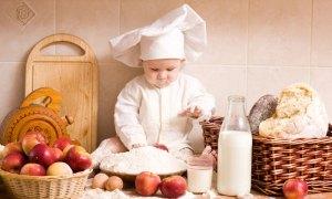 cuisiner avec bebe