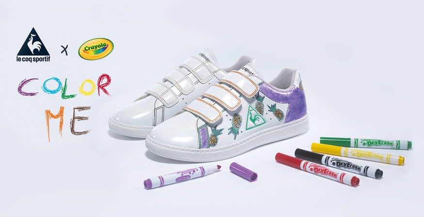 customiser ses chaussures d'enfant