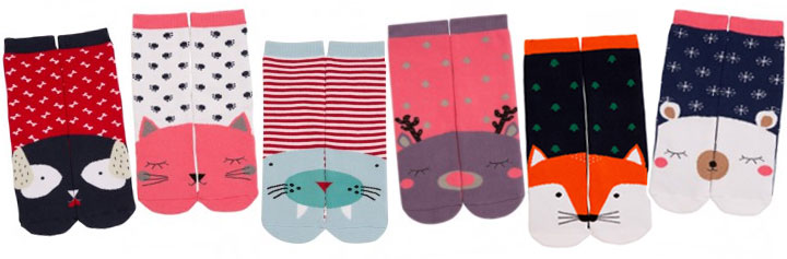 chaussettes animaux