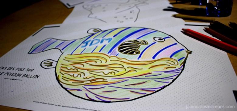 aquarium de paris coloriage animé