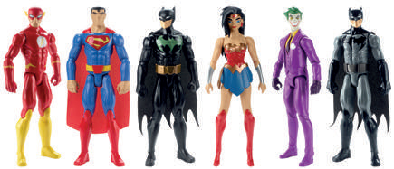 figurines justice league