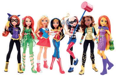 poupées DC Super Hero Girls