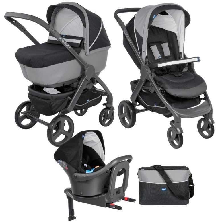 pack poussette Trio StyleGo Up i-size de Chicco