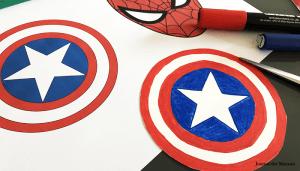 tuto DIY plastique dingue aimant super héros