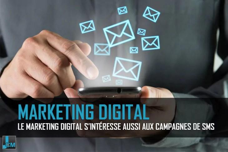Campagnes de SMS - marketing digital