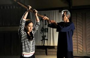 Chihiro YAMAMOTO et Seizo FUKUMOTO dans Uzumasa Limelight