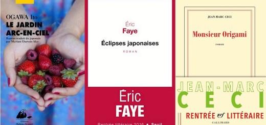 rentrée 2016 littérature japon