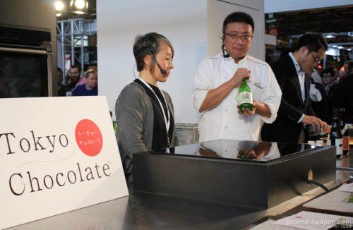 Conférence saké et chocolat au salon du chocolat de Paris 2017 ©Vi TOAN