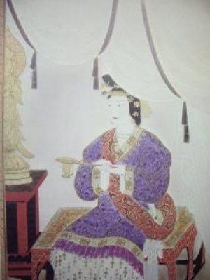 Illustration de l'impératrice Suiko