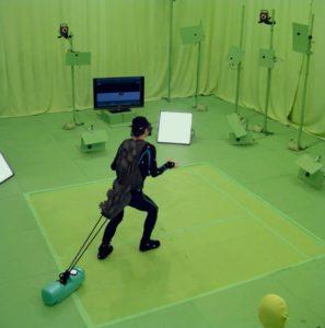 L'acteur Mansai NOMURA en train de jouer Shin Godzilla