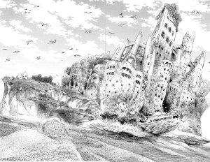 L'île © 2013 Abi Umeda / Akita Publishing Co