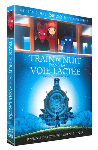 Train de nuit dans la voir lactée dvd BR