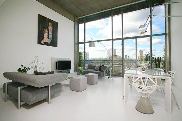 Loft Design Vendre Londres Union Wharf Journal Du Loft