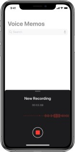 Voice Memo app on iPhone - Audio Journaling