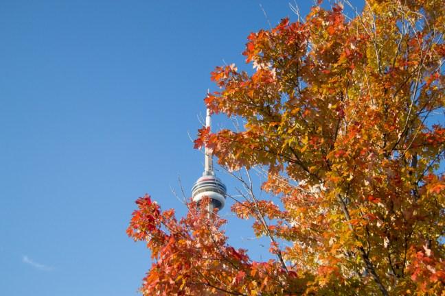 Toronto CN Tower Fall