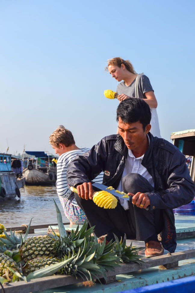 vietnam floating market